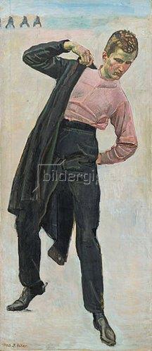 Ferdinand Hodler: Jenenser Student 1813.  1908.