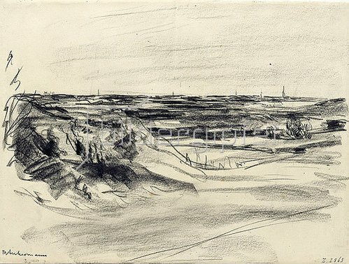 Max Liebermann: Landschaft.