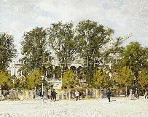 Oilaf Viggo Peter Langer: Tivoli, Kopenhagen. 1903