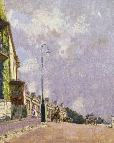 Walter Richard Sickert: Mr Sheepshank's House, Camden Crescent, Bath. Um 1916-18