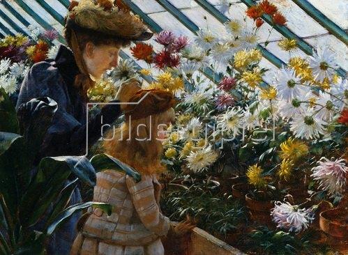 Charles Courtney Curran: Chrysanthemen. 1890