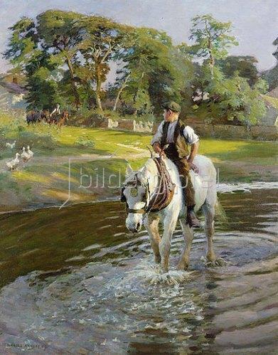Harold Harvey: Ein Sommernachmittag. 1909