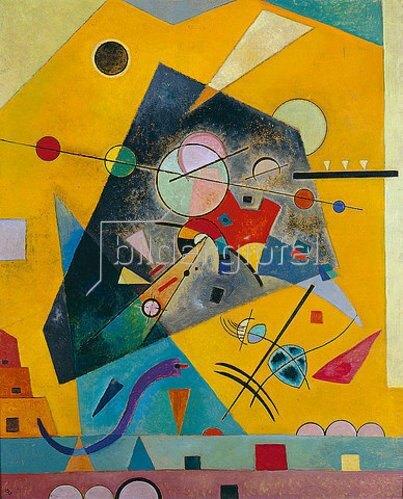 Wassily Kandinsky: Stille Harmonie. 1924