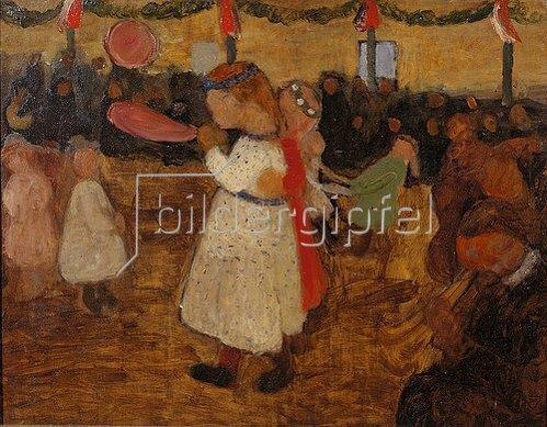 Paula Modersohn-Becker: Ländliches Fest. Um 1905