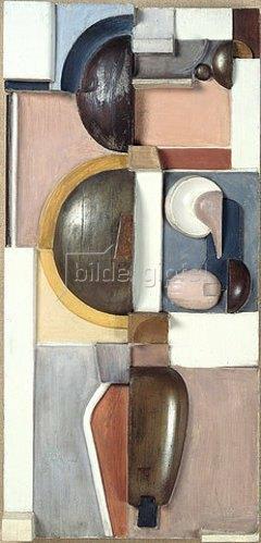 Oskar Schlemmer: Relief JG (K 3). 1919/1921