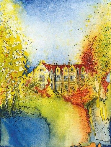 Annette Bartusch-Goger: England, West Sussex: Wakehurst Place Garden in Ardingly.