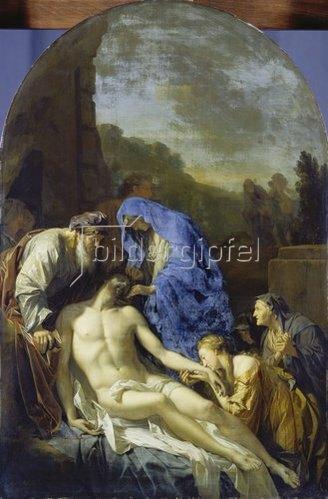 Adriaen van der Werff: Grablegung Christi. 1703.