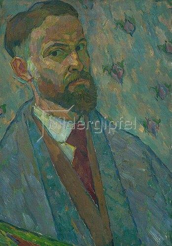 Walter Ophey: Selbstportrait. 1916