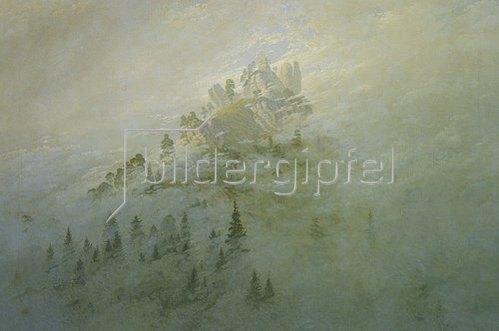 Caspar David Friedrich: Morgennebel im Gebirge.