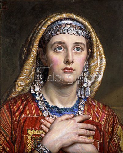 William Holman Hunt: Die Braut von Bethlehem. 1884