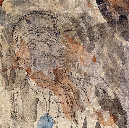 Honoré Daumier: Studie eines Advoaten (Etude d'un Avocat).