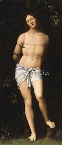 Giovanni Francesco Caroto: Der heilige Sebastian.
