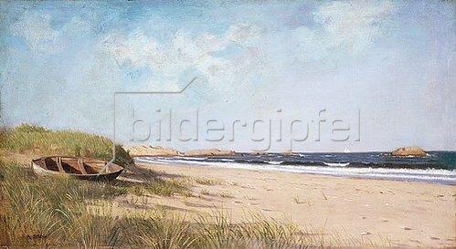Francis Augustus Silva: Am Strand.