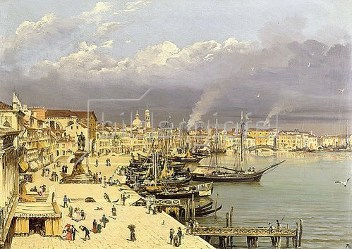 Antonietta Brandeis: Ansicht von Venedig.