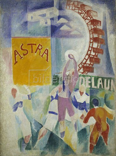 Robert Delaunay: L'Equipe de Cardiff. 1912/1913.