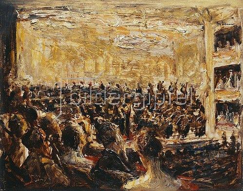Max Liebermann: Konzert in der Oper. Um 1923