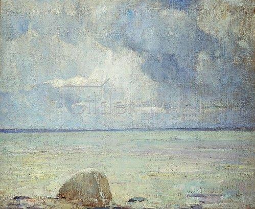 Soren Emil Carlsen: Blick auf den Sund.