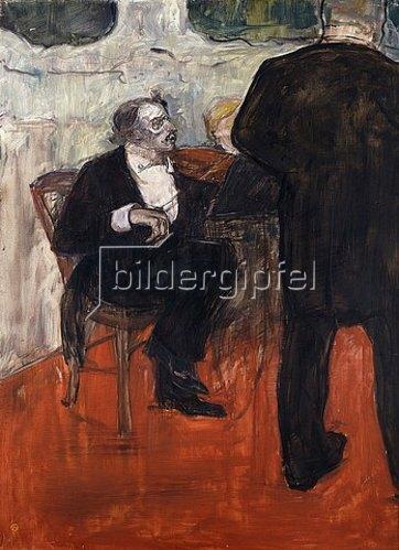 Henri de Toulouse-Lautrec: Der Violinist Dancla. 1900