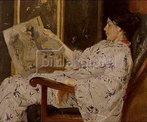 William Merrit Chase: Der japanische Holzschnitt. Wohl 1903.