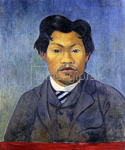 Paul Serusier: Portrait von Mai Chaipp. 1889