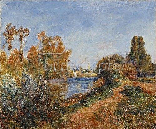 Auguste Renoir: Die Seine bei Argenteuil. 1888