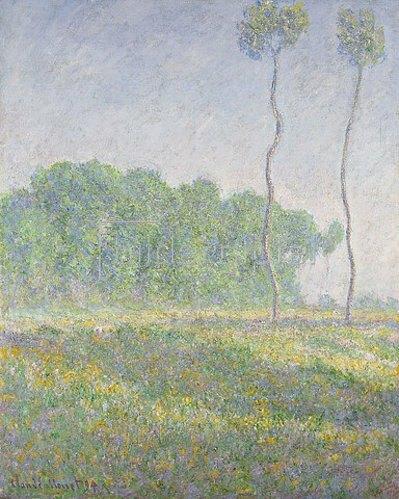 Claude Monet: Frühlingslandschaft, Giverny (Paysage du Printemps, Giverny). 1894