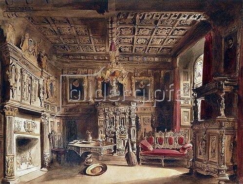 William Henry Lake Price: Raum in einem alten Herrenhaus.