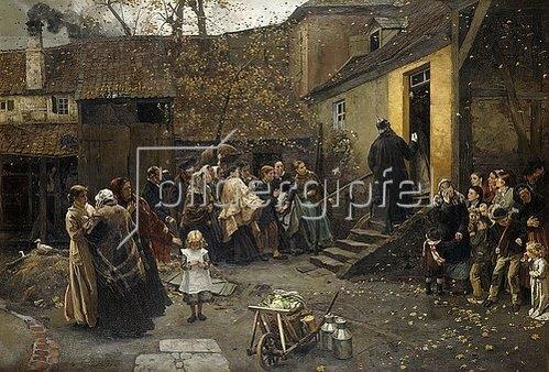 Christian Ludwig Bokelmann: Die Verhaftung. 1881