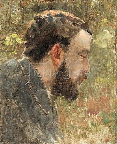 Henri Edmond Cross: Bildnis Seurats.