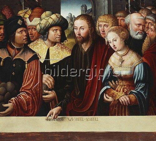 Hans Johann Kemmer: Christus und die Ehebrecherin. Um 1525