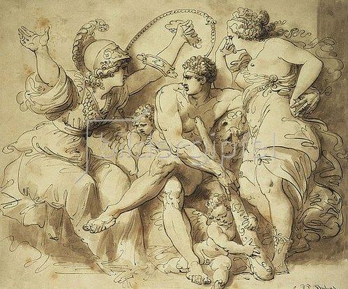 Giuseppe Cades: Herkules am Scheideweg.