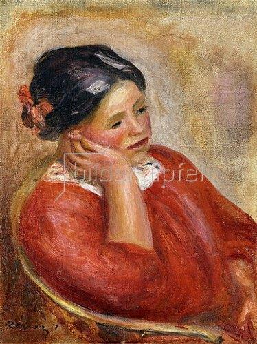 Auguste Renoir: Gabrielle mit aufgestütztem Kopf (Gabrielle acoudée).
