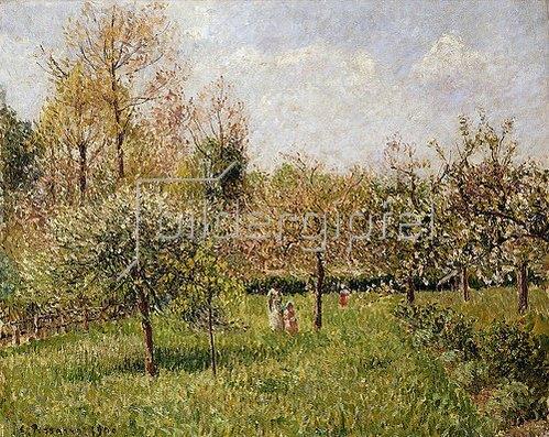 Camille Pissarro: Frühling in Eragny (Printemps à Eragny). 1900