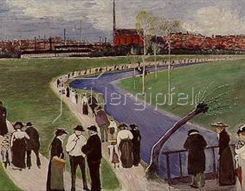 Marianne von Werefkin: Frühlingssonntag. 1907.