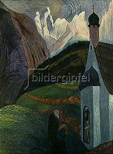 Marianne von Werefkin: Das Gebet. 1910.