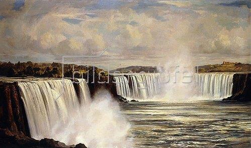 John Wilson: Die Niagarafälle.