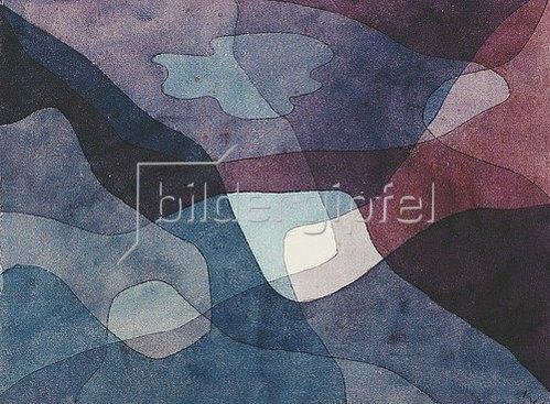 Paul Klee: Berg und Luft synthetisch. 1930