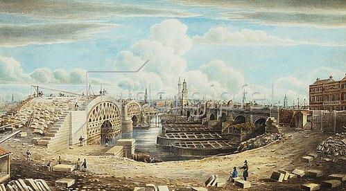 Gideon Yates: Der Wiederaufbau der London Bridge.