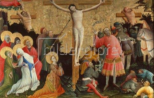 Meister des Bersword-Altars: Berswold-Altar. Kreuzigung Christi.