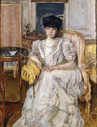 Pierre Bonnard: Portrait der Prinzessin von Caraman-Chimay. 1907