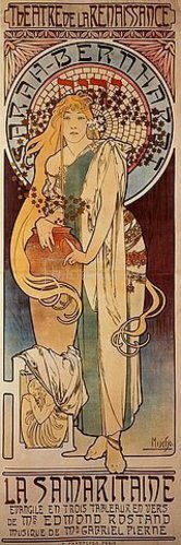 Alfons Mucha: Die Samariterin. 1897