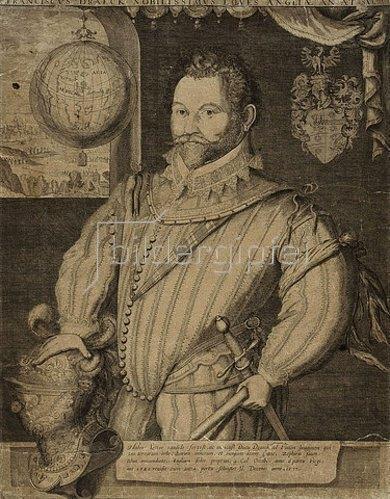 Jodocus Hondius: Sir Francis Drake.