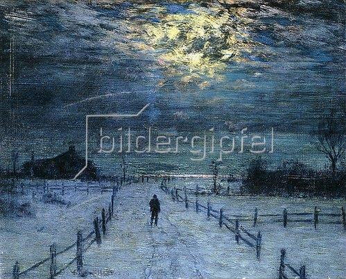 Lowell Birge Harrison: Winterspaziergang.