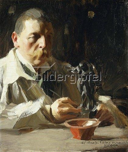 Anders Leonard Zorn: Selbstbildnis. 1895