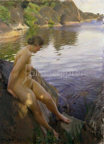 Anders Leonard Zorn: In Sandham. 1907
