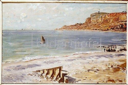 Claude Monet: Seestück bei Sainte-Adresse (Marine Sainte-Adresse).