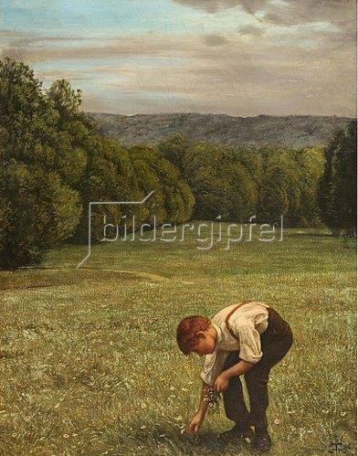 Hans Thoma: Waldwiese. 1886