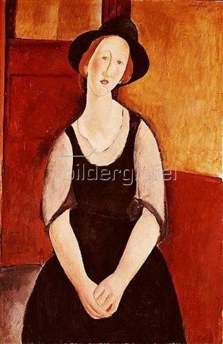 Amadeo Modigliani: Bildnis der Thora Klinckowstrom. 1919