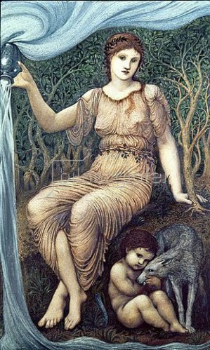 Sir Edward Burne-Jones: Erdmutter (Earth Mother). 1882
