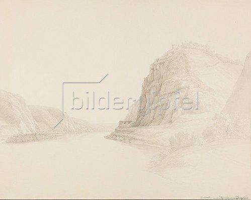 Christian Georg (der Vetter) Schütz: Hammerstein am Rhein. 1804